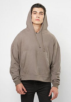 Hooded-Sweatshirt Short brown