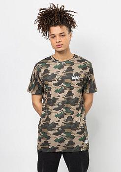 T-Shirt Dusk Camo multicolor