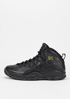 Basketballschuh Air Jordan 10 Retro black/black/dark grey/metallic gold