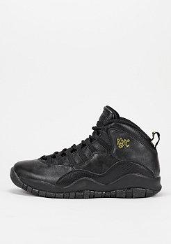 Air Jordan X black/black/dark grey/metallic gold