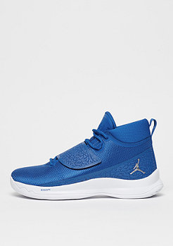 JORDAN Baskeballschuh Super.Fly 5 team royal/metallic silver/white