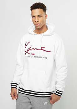 Karl Kani Hooded-Sweatshirt Basic white