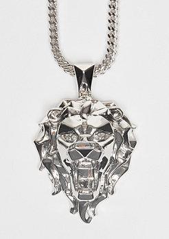Kette Fox Empire CZ Faceted Lion silver