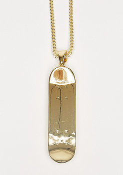 Kette Skateboard gold