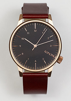 Uhr Winston Regal burgundy