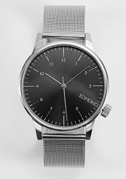 Uhr Winston Royale silver/black