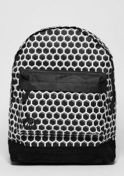 Rucksack Honeycomb black/white