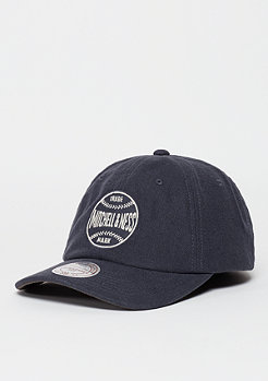 Snapback-Cap Linen Slouch grey