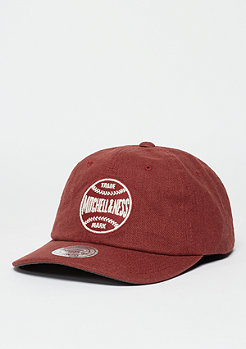 Snapback-Cap Linen Slouch red