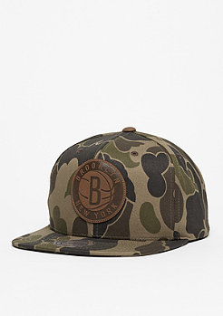 Snapback-Cap Lux NBA Brooklyn Nets camo