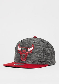 Snapback-Cap Prime Knit NBA Chicago Bulls black/red