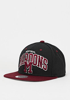 Snapback-Cap Team Arch NHL Montreal Maroons black