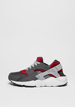 Laufschuh Air Huarache Run dark grey/wlf grey/gym red
