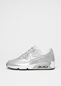 Schuh Air Max 90 SE (GS) Leather metallic platinum/metallic platinum