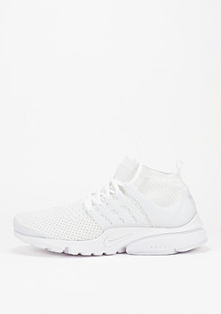 NIKE Air Presto Ultra Flyknit white/white/white/total crimson