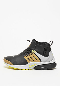 Schuh Air Presto Utility Mid-Top black/yellow/metallic gold