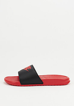 Badeschlappe Benassi Just Do It Mismatch university red/black