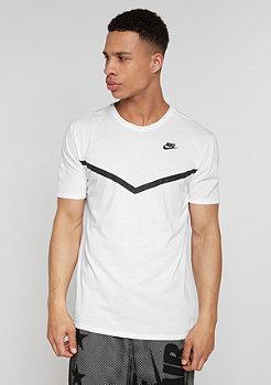 T-Shirt Futura Mesh Panel Print white/white/white