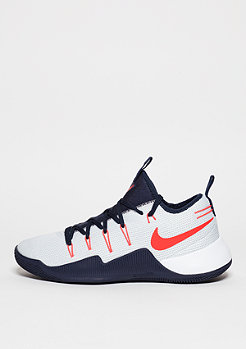 Basketballschuh Hypershift white/bright crimson/obsidian