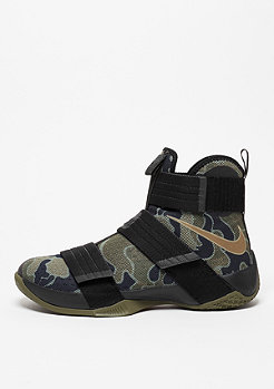 Lebron Soldier 10 SFG black/bamboo/medium olive
