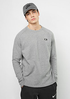 Sweatshirt Modern Crew LT WT carbon heather/black