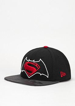 Snapback-Cap Vizaflective 9Fifty Batman vs. Superman black/red