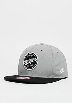 Snapback-Cap Emblem Patch MLB Los Angeles Dodgers grey/black