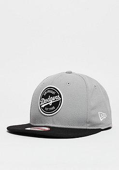 Snapback-Cap Emblem Patch MLB Los Angeles Dodgers grey/black