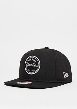 Snapback-Cap Emblem Patch MLB New York Yankees black