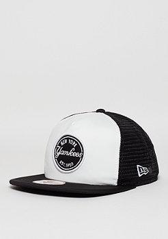 Trucker-Cap 9Fifty Emblem MLB New York Yankees optic white/black