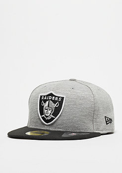 New Era Fitted-Cap 59Fifty Team Jersey Crown NFL Oakland Raiders grey/team