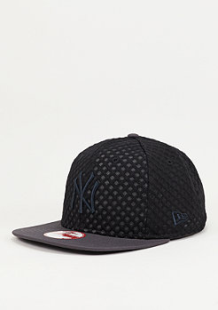 Snapback-Cap Mesh Crown MLB New York black/black/graphite