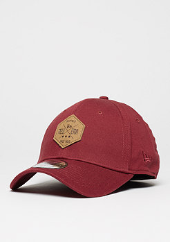 Baseball-Cap 39Thirty Hex Patch Stretch cardinal