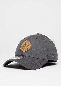 Baseball-Cap 39Thirty Hex Patch Stretch grey