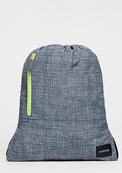 Turnbeutel Everyday Cinch Bag heather grey/lime