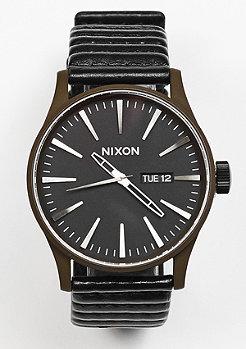 Uhr Sentry Leather bronze/black
