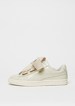 Schuh Basket Heart Patent SMU oatmeal/whisper white/gold