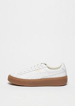 Schuh Basket Platform Core puma white/puma white