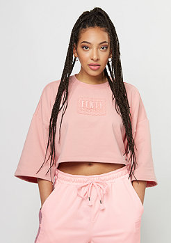 Fenty by Rihanna Cropped Crew Neck bridal rose