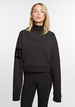 Fenty by Rihanna Sweatshirt Cropped Neck Zip black