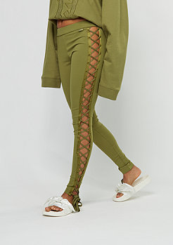 Fenty by Rihanna Lacing Tight Satin olive branch