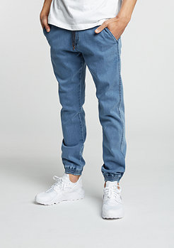 Chino-Hose Reflex light blue denim