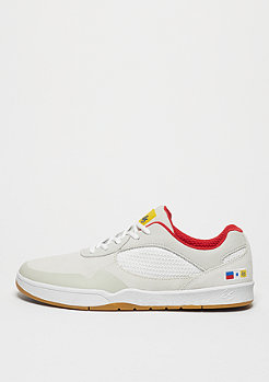 Skateschuh Swift white/red