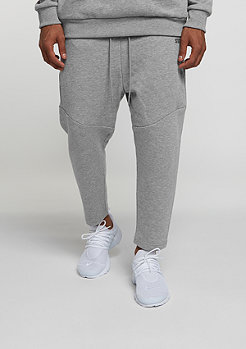 Trainingshose Basic Cropped heather grey