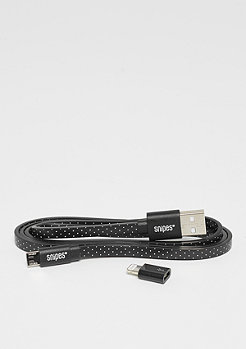 SNIPES Charging Cable Dots black