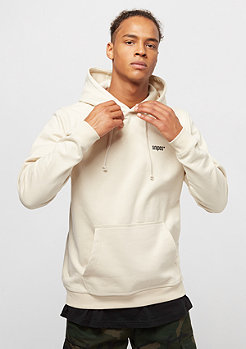 Hooded-Sweatshirt Chest Logo birch/black embroidery