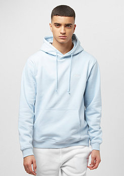 Hooded-Sweatshirt Chest Logo omphalodes/white embroidery