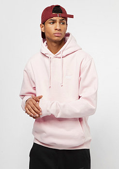 Hooded-Sweatshirt Chest Logo crystal pink/white embroidery