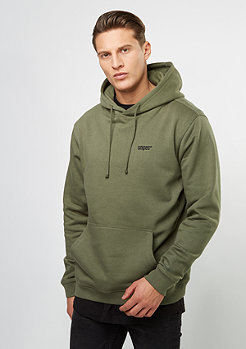 Hooded-Sweatshirt Chest Logo olive night