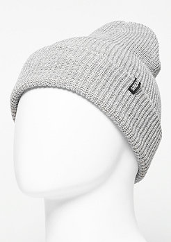 Beanie Fisherman heather grey